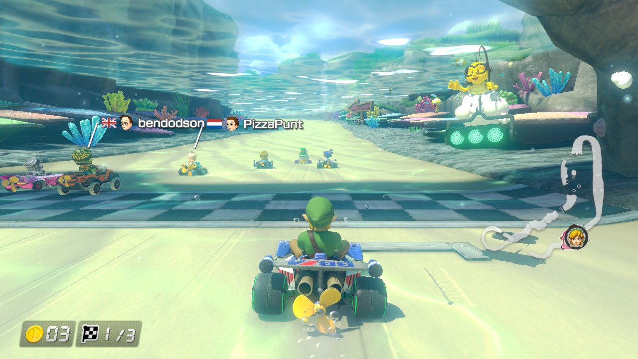 Connecting to Host #21: Mario Kart 8 Deluxe